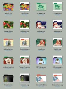 Christmas Folder von vonnanator
