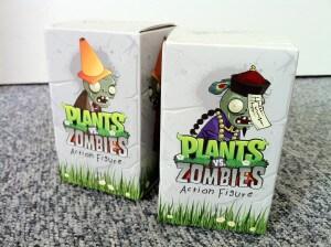 Pflanzen gegen Zombies - zwei Actionfiguren zu verlosen
