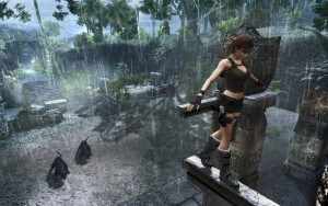 Lara Croft in Tomb Raider: Underworld