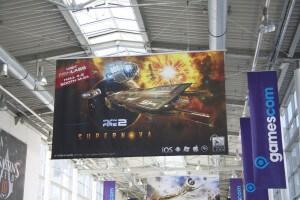 Galaxy on Fire 2: Supernova wird auf der gamescom beworben