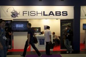Der Fishlabs-Stand im Business-Bereich der gamescom