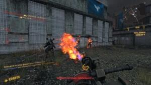 Nuclear Dawn: Flammenwerfer im Einsatz