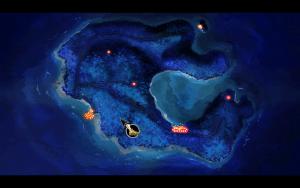 Mêlée Island von oben