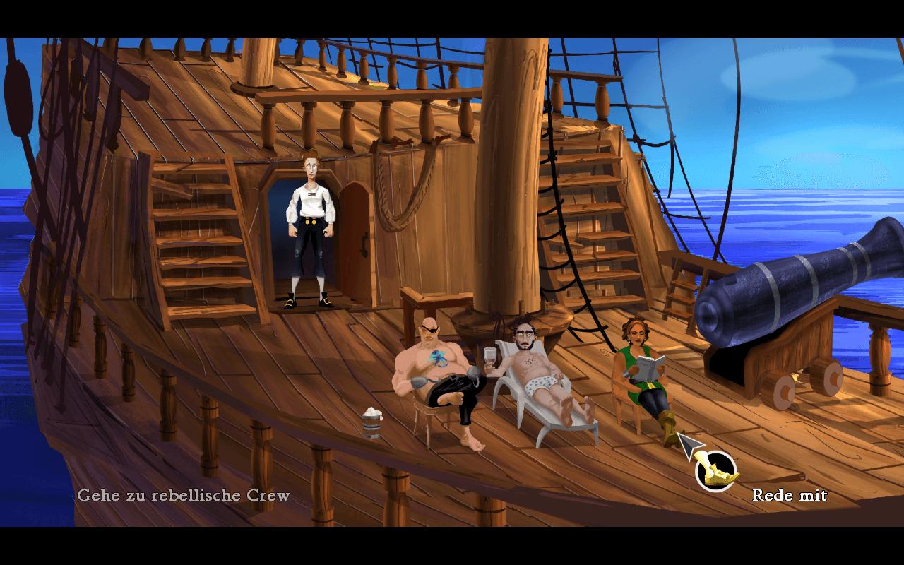 Meuterei auf der Sea Monkey
