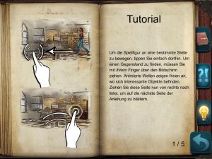 Die Hilfe in Geheimakte Tunguska (iOS)