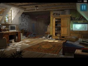 Auf dem Dachboden findet Nina ein paar wichtige Hinweise (Geheimakte Tunguska – iOS)