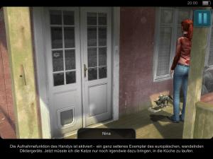Nina trifft auf geheimnisvolle Personen (Geheimakte Tunguska – iOS)