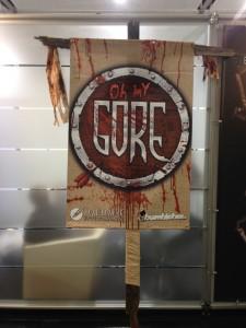 Gamescom 2014: Schlachtfeld-Banner von Oh My Gore!