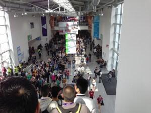 Gamescom 2014: Ein Blick auf die Besucherhorden