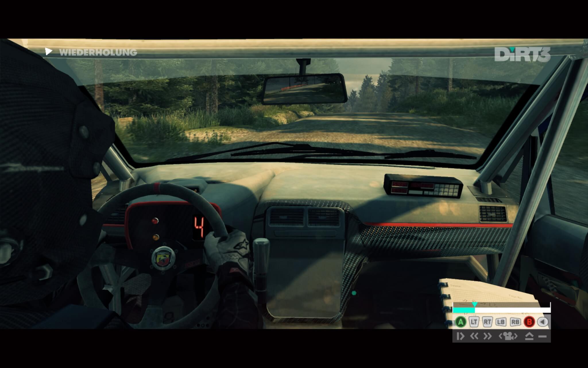 Blick aus dem Cockpit (DiRT 3)