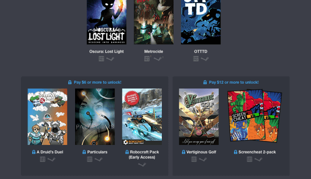Humble Weekly Bundle: Surprise Attack