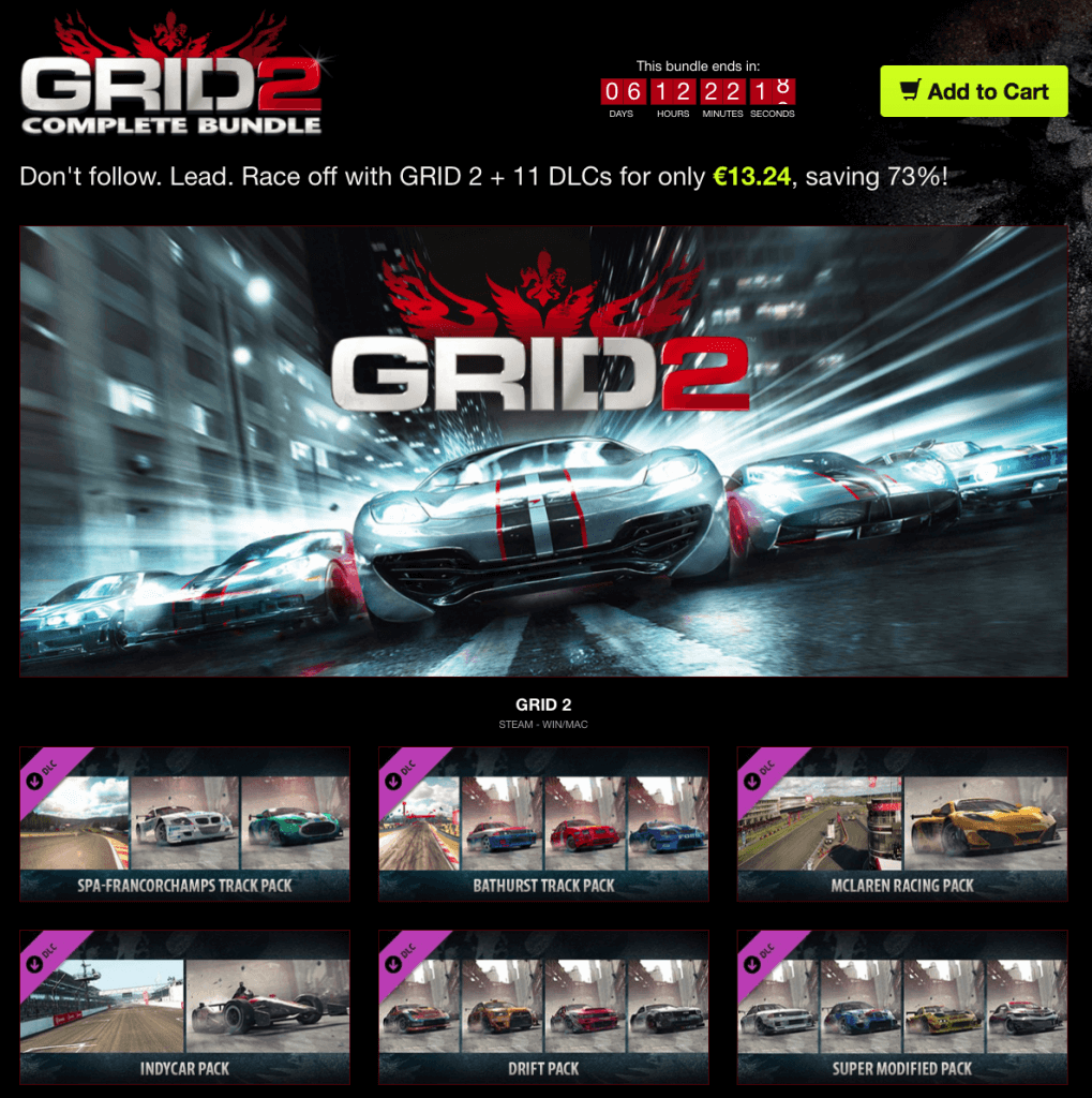 Grid 2 Complete Bundle