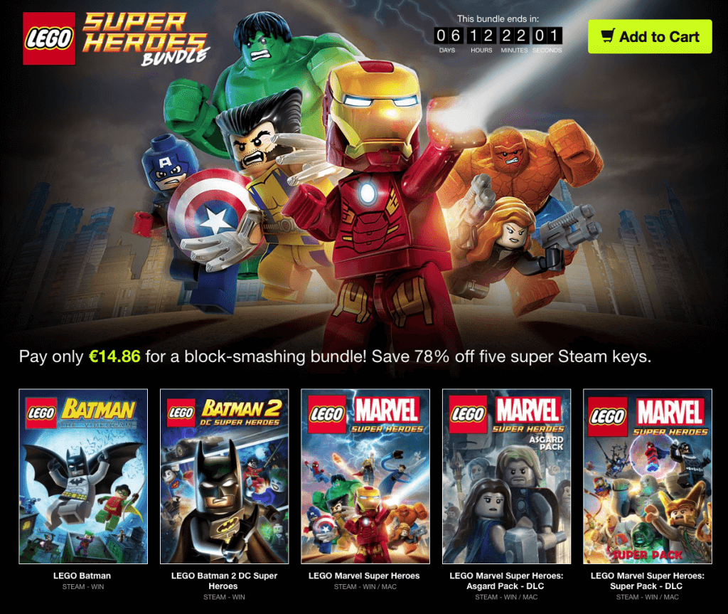 LEGO Super Heroes Bundle