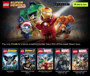 LEGO Super Heroes Bundle
