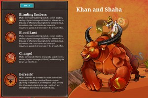 Champion Khan und Shaba (Sigils)