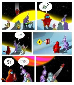 Geschichte von Cats in Space Suits - Teil 2