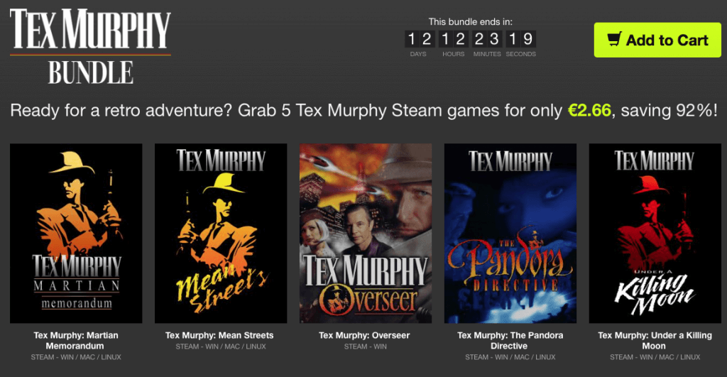 Tex Murphy Bundle