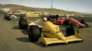 In F1 2013 kann man auch mit Rennwagen aus früheren Saisons fahren (Bildrechte: Feral Interactive)
