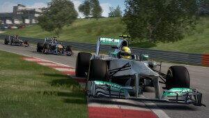 F1 2013: Die Verfolger sitzen einem immer im Nacken (Bildrechte: Feral Interactive)