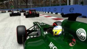 F1 2013: Nur nicht zu dicht auffahren, sonst kracht's (Bildrechte: Feral Interactive)
