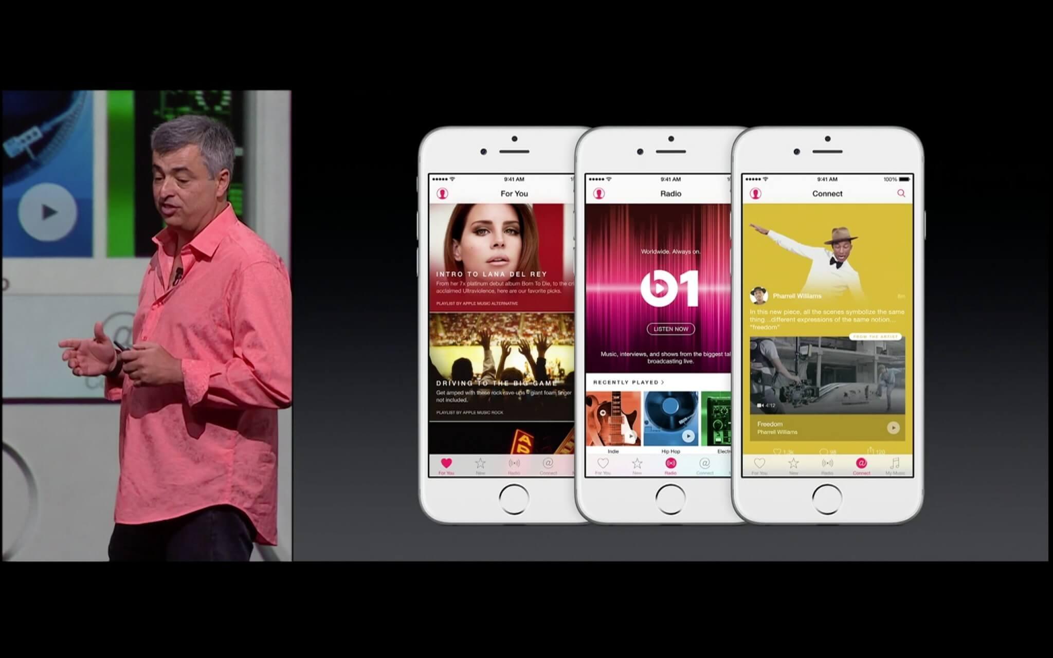 neues von apple os x ios 9 watchos 2 apple music. Black Bedroom Furniture Sets. Home Design Ideas