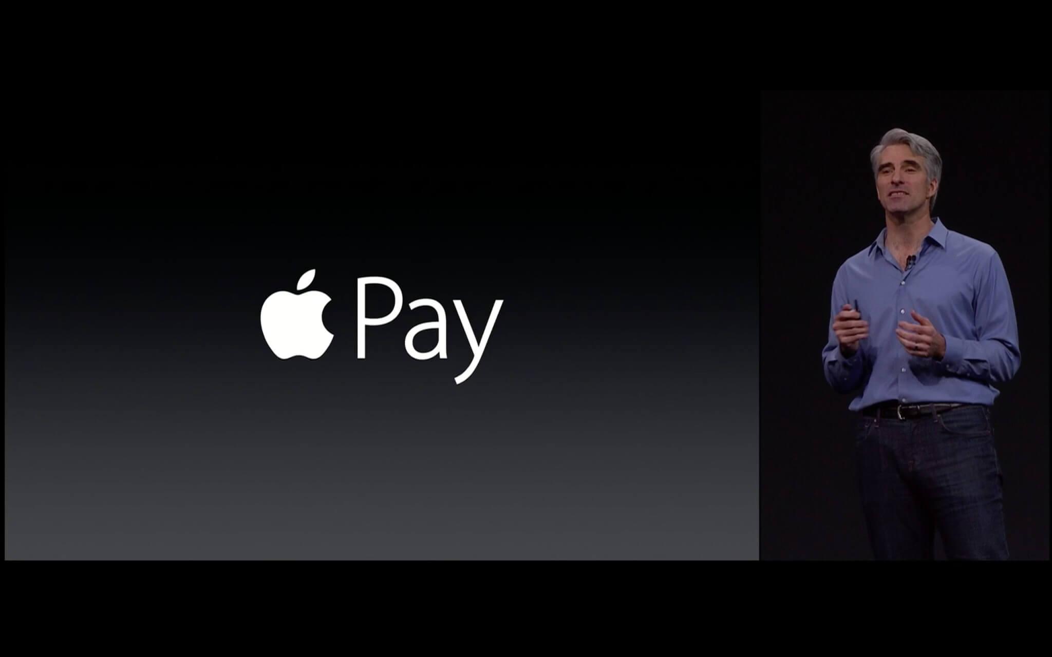 Craig Federighi stellt die Neuerungen von Apple Pay vor (Bildrechte: Apple)
