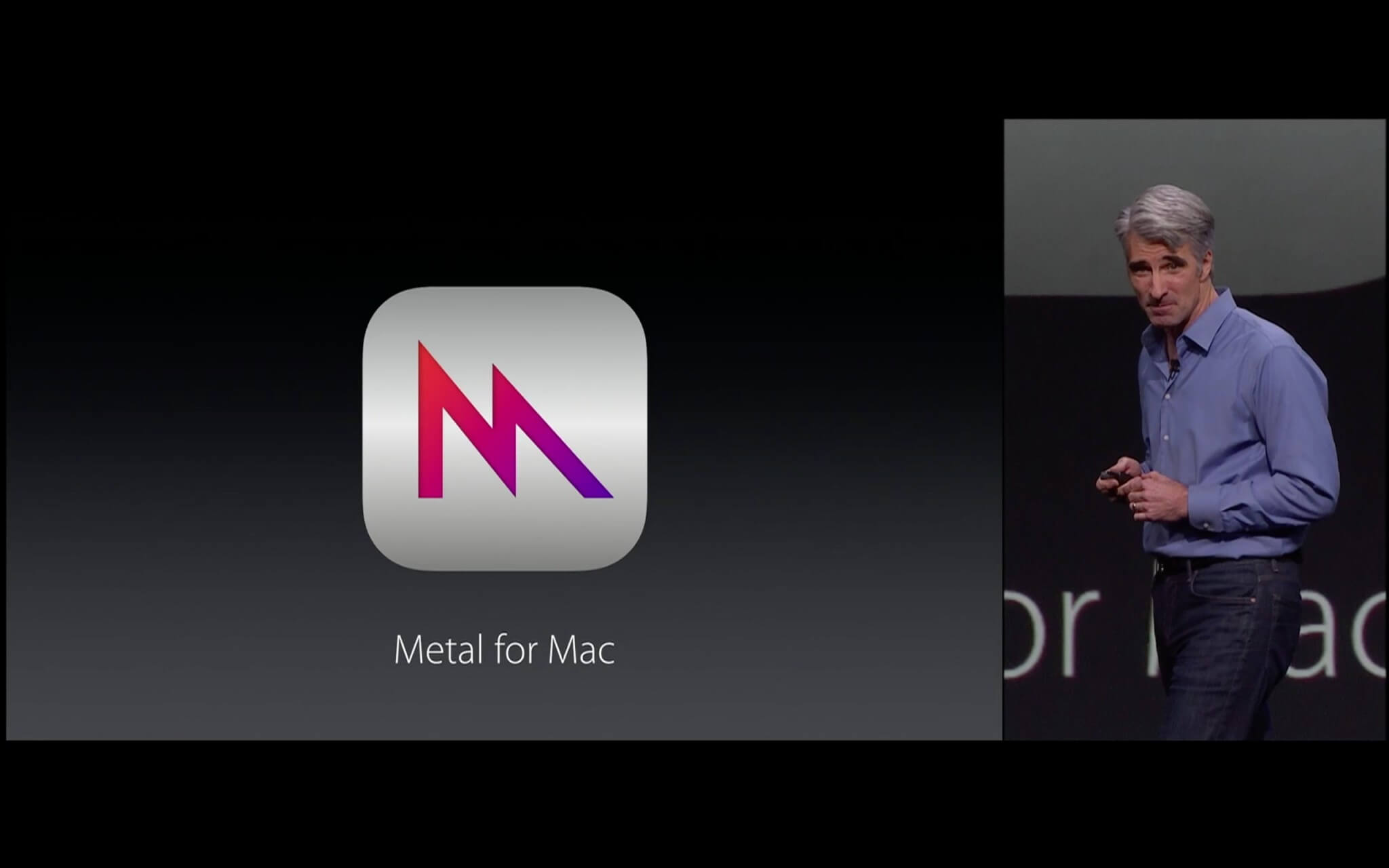 Metal for Mac (Bildrechte: Apple)