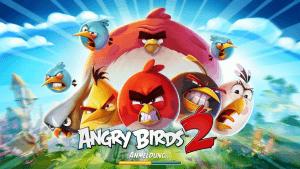 Titelbildschirm von Angry Birds 2