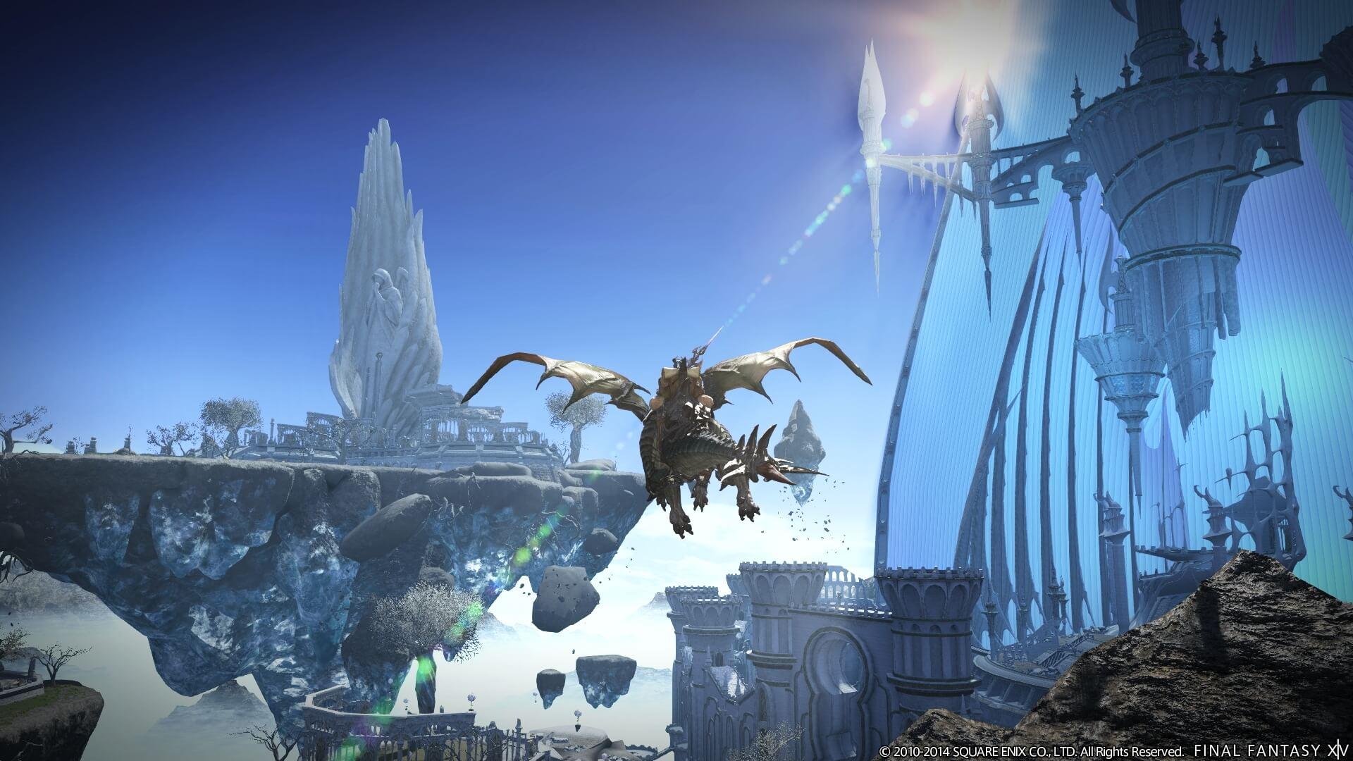 Final Fantasy XIV: Heavensward (Bildrechte: Square Enix)