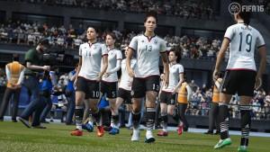 Jetzt auch mit Frauenfußball: FIFA 16 (Bildrechte: Electronic Arts)