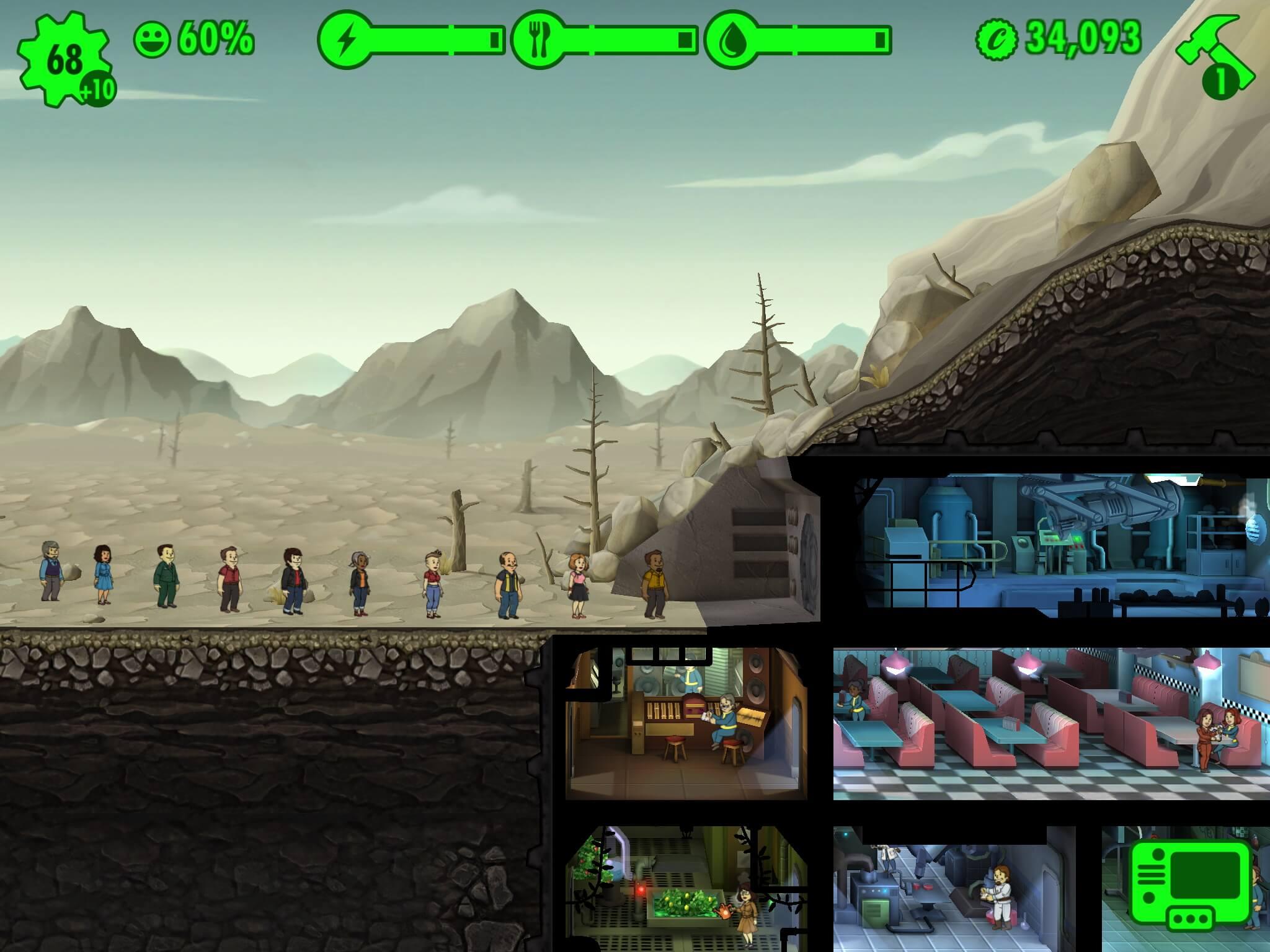 Fallout Shelter (Bildrechte: Bethesda)