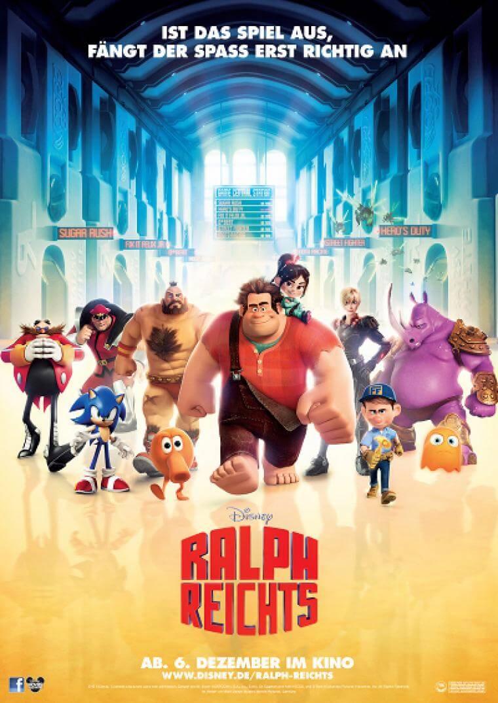 Filmposter zu Ralph reicht's (Bildrechte: Disney)