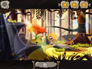 Fire für iOS: Ungh unterwegs im Urwald (Bildrechte: Daedalic)