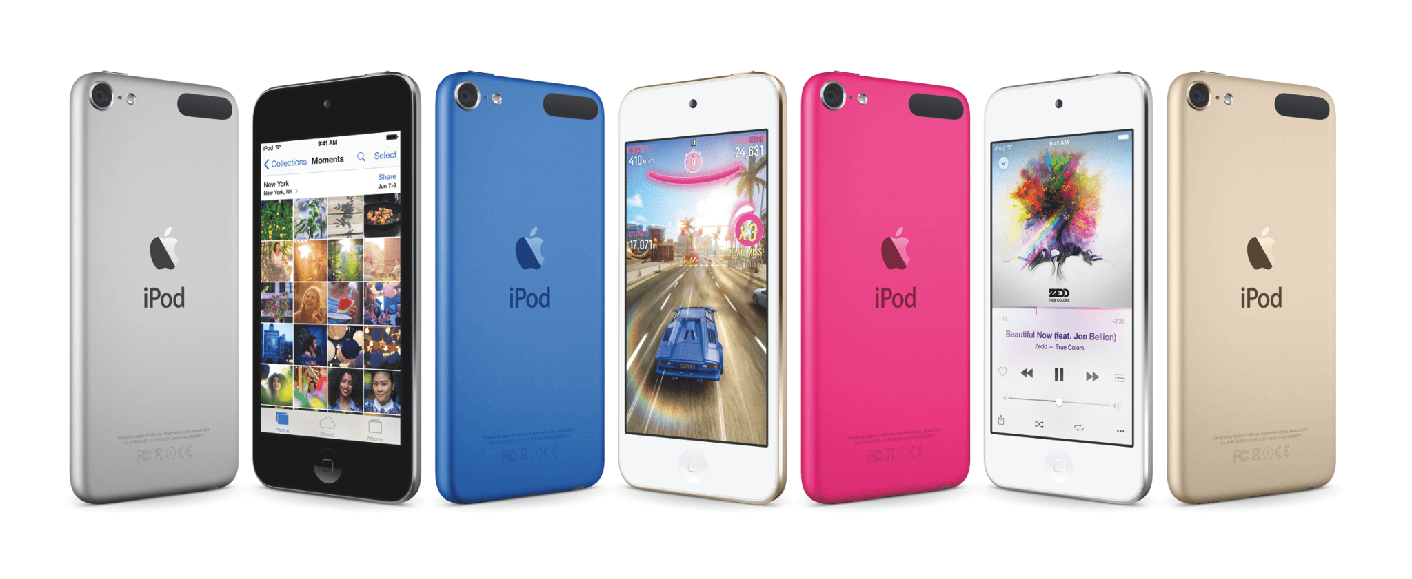 iPod touch – Juli 2015 (Bildrechte: Apple)