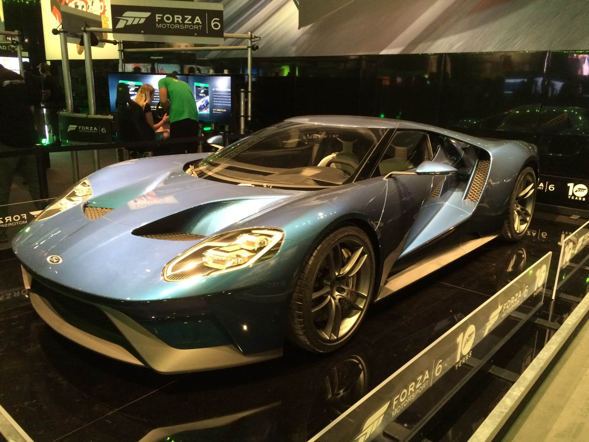 Ford GT bei Microsoft