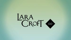 Der Startbildschirm von Lara Croft Go