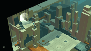 Balanceakt in Lara Croft Go
