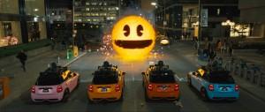 Die Arcader stellen sich Pac-Man in den Weg (Bildrechte: Sony Pictures Releasing GmbH)