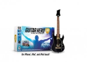 Auch die iOS-Version von Guitar Hero Live wird mit dem Gitarren-Controller gespielt (Bildrechte: Activision)