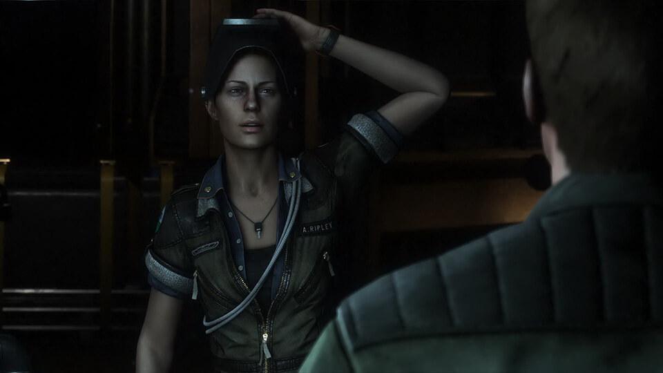 Amanda Ripley sucht ihre Mutter und findet das Grauen (Bildrechte: Feral Interactive).
