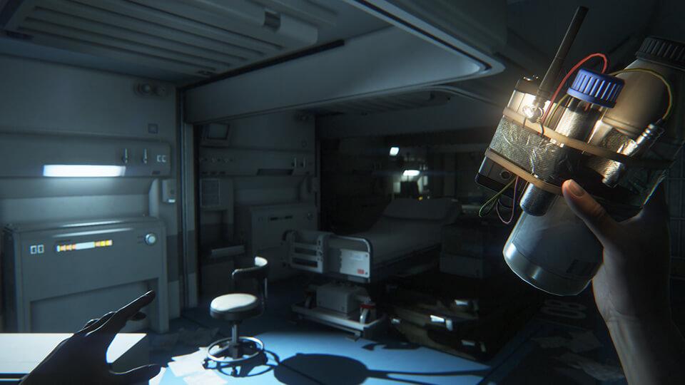 Wer überleben möchte, muss Gegenstände und Waffen selbst herstellen (Bildrechte: Feral Interactive).