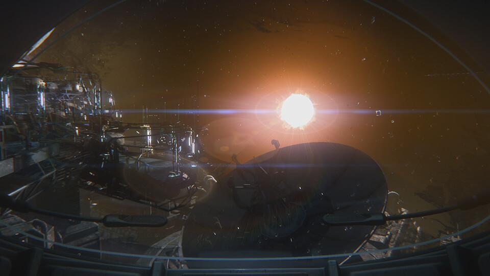 Schön schaurige Sevastopol: Eine havarierte Raumstation ist der Hauptschauplatz in Alien Isolation (Bildrechte: Feral Interactive).