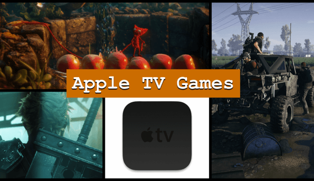 Spiele für Apple TV