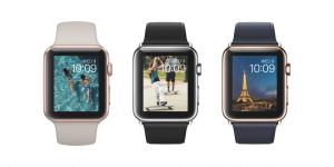Apple Watch In Roségold, Edelstahl und Gold (Bildrechte: Apple)