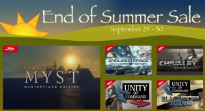 End of Summer Sale 2015 (Screenshot: Mac Game Store)