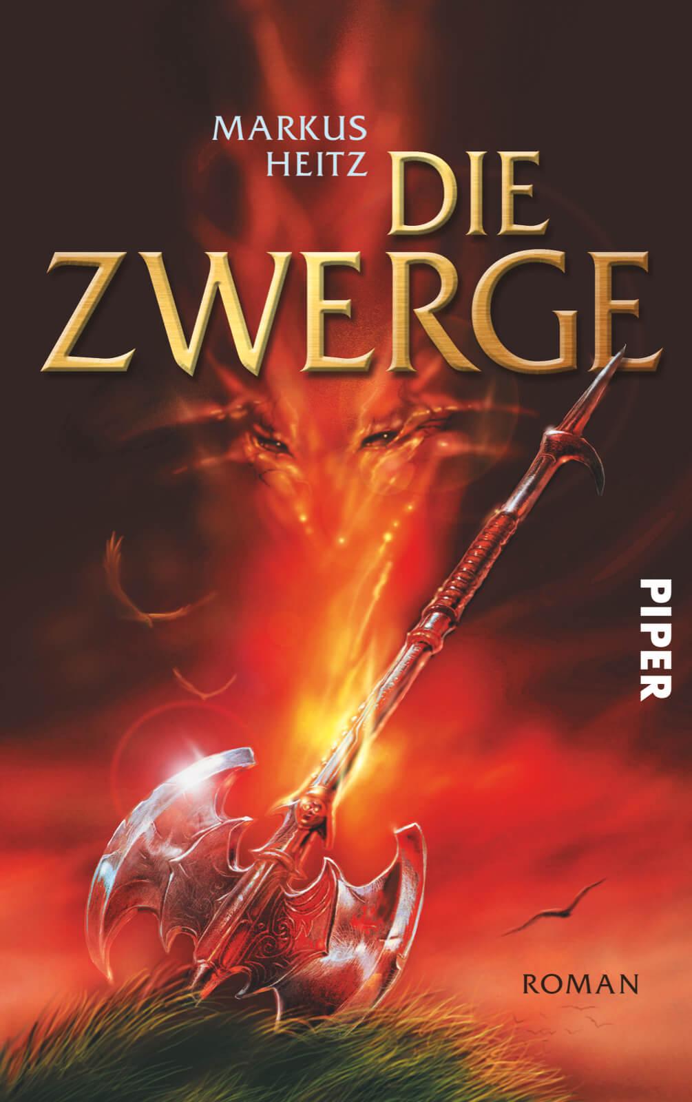 Die Zwerge von Markus Heitz (Bildrechte: Piper Verlag)