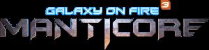 Logo von Galaxy on Fire 3: Manticore (Bildrechte: DS Fishlabs)