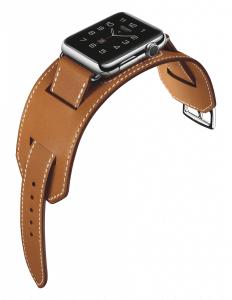 Apple Watch mit Lederarmband von Hermès (Bildrechte: Apple)