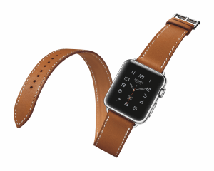 Apple Watch mit Lederarmband von Hermes (Bildrechte: Apple)