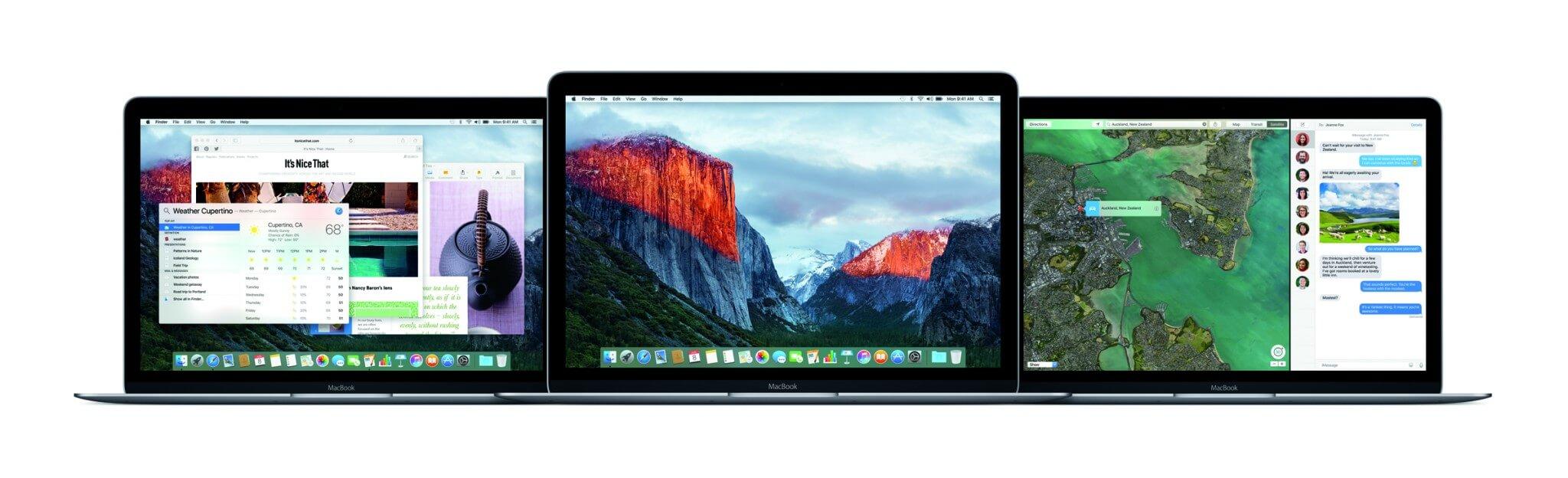 Mac-Betriebssystem OS X 10.11 El Capitan (Bildrechte: Apple)